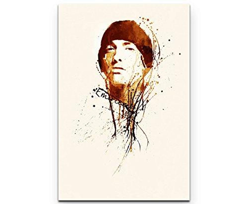 Paul Sinus Art Eminem 90x60cm auf Leinwand gespannt fertig zum aufhängen