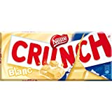 Nestlé Crunch White Chocolate bar - 100gr / 3.5oz [Pack of 7 bars]