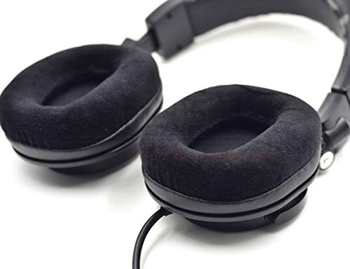 Replacement Parts Velour Velvet Ear pad Cushion for Audio Technica ATH-T200 T300 T400 T500 Headset