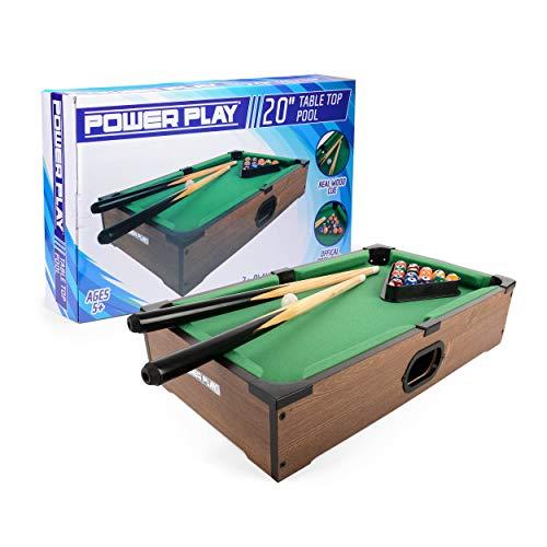 PowerPlay ty5894db Tisch Top Pool Game, 20