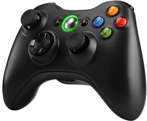 Zexrow Wireless Controller für Xbox 360, Wireless Game Controller mit Verbessertes ergonomisches Design Joypad, Gamepad Wireless für Xbox 360/Windows XP/7/8/10 (Empfänger nicht enthalten)