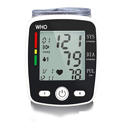 Cat sauce0 Digitale Handgelenk Blutdruckmessgerät Mit LCD-Display Leicht Und Tragbar Blutdruckmessgerät Elektronische Vollautomatische Blutdruck-Die Universelle Sicherheit,Schwarz
