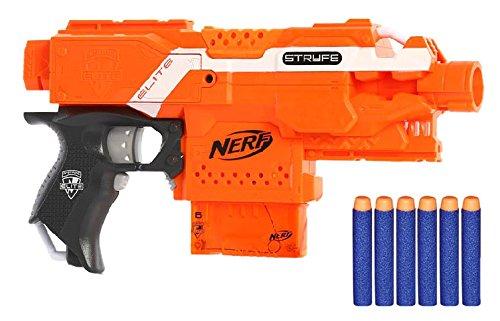 Nerf - Lanzador Stryfe Elite Semi automático (Hasbro A0200E35)