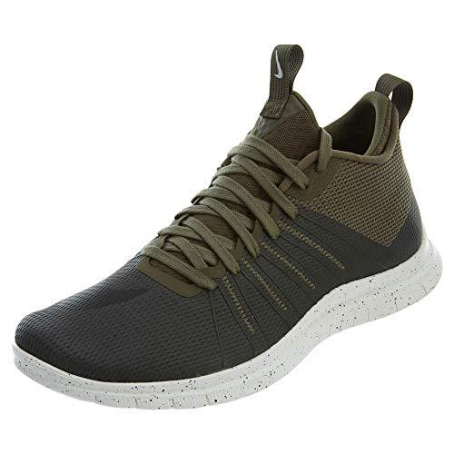 Nike Free Hypervenom 2 FS, Botas de fútbol Hombre, Verde/Negro (Medium Olive/Black-Ivory), 43