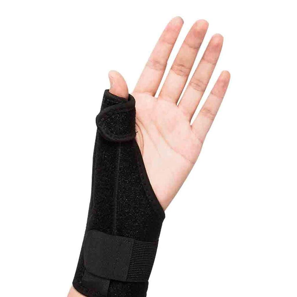 労働面倒うまれたThumbスプリントトリガーThumb腱鞘炎Wristband関節炎トリートメントThumb捻挫の関節を固定&安定化するブレース Roscloud@