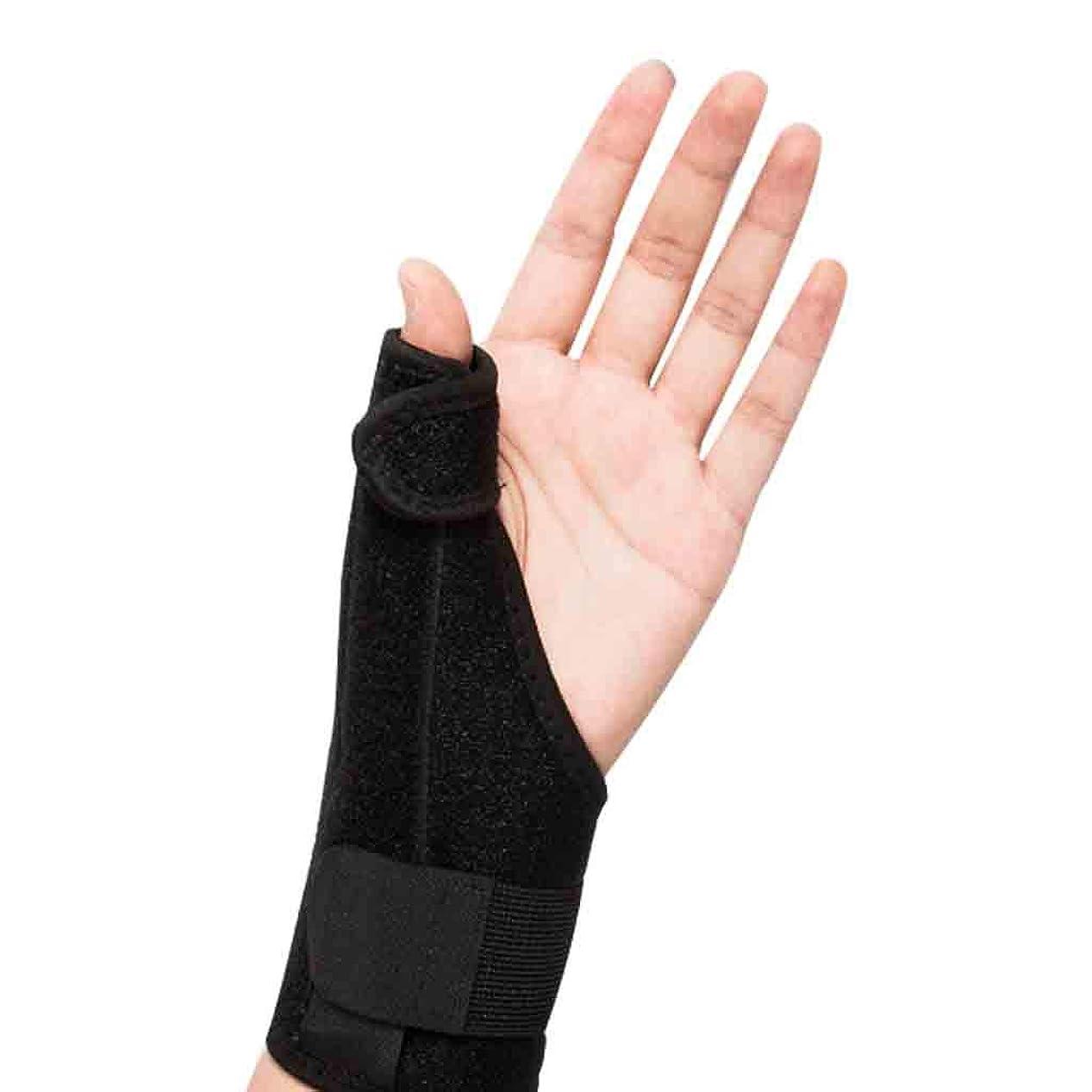 優雅な照らす無限大ThumbスプリントトリガーThumb腱鞘炎Wristband関節炎トリートメントThumb捻挫の関節を固定&安定化するブレース Roscloud@