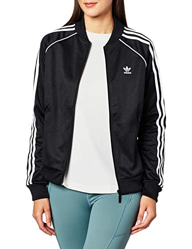adidas Super, Track Tops Donna, Black, 40