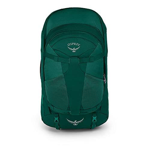 Osprey Packs Fairview 55 Travel Backpack, Rainforest Green, X-Small/Small