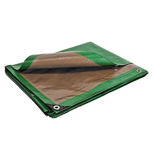 Bache de Protection 250 g/m² - 6 x 10 m - bache Plastique - bache Exterieur - bâches étanches - bache toiture - Chantier