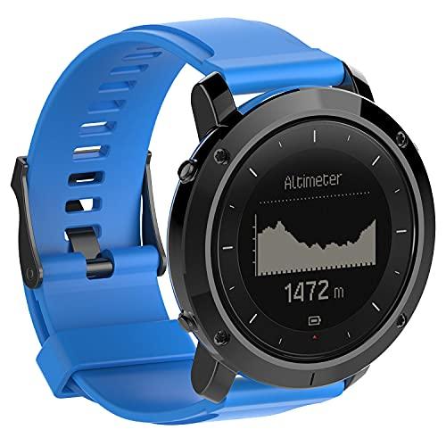 Gransho Correa de Reloj Reemplazo Compatible con Suunto Traverse, la Correa de Reloj Watch Band Accessorios (Pattern 6)