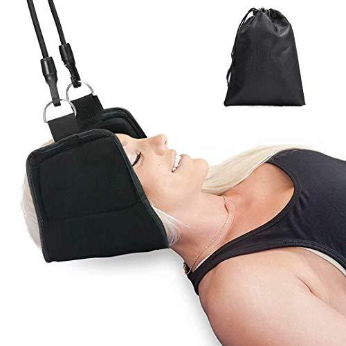 Hals Hängematte, Halshängematte Kopf Nackenmassagegerät für chronische Nacken und Schulterschmerzen Kopf Bessere Hals Relax Tragbare Nacken Massagegerät für Büro Haus für Männer Frauen