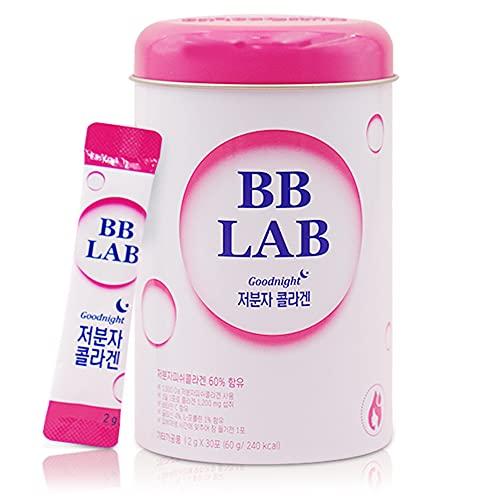 BB LAB Goodnight Collagen, Sound of Seoul, Low Molecular Collagen, for Skin & Bone Health, Made in Korea, 30 Packets (60g)