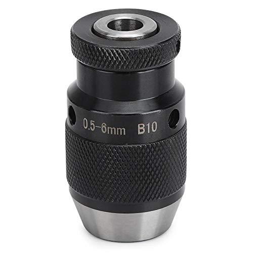 Boorkop, draaibank boorkop 0,5-6 mm, zware automatische vergrendelingsboorkop, voor boormachines, freesmachines, enz