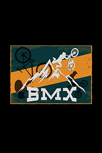 BMX: 6x9 BMX | blank with numbers paper | notebook | notes