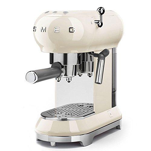 Smeg ECF01CRUS Espresso Coffee Machine, One Size, Cream