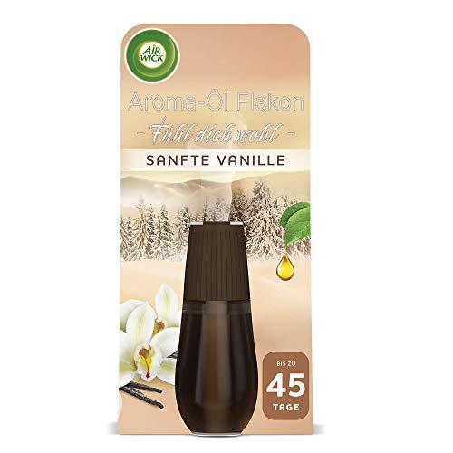 Air Wick Aroma-Öl Flakon – Duftöl Nachfüller für den Air Wick Diffuser – Duft: Sanfte Vanille – 1 x 20 ml ätherisches Öl
