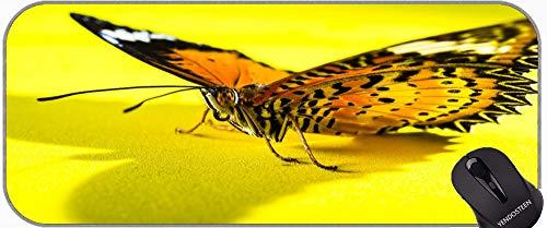 Personalizado Su Juego de Mousepad de Gaming, Insecto Mariposa Cerrar Mat