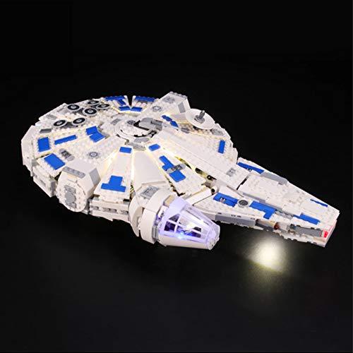 Kit De Iluminación Led para Lego Star Wars Halcón Milenario del Corredor De Kessel, Compatible con Ladrillos De Construcción Lego Modelo 75212, NO Incluido En El Modelo