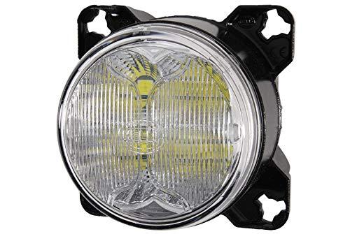 Hella 1G0 996 263-501 Arbeitsscheinwerfer - M90i - LED - 12V/24V - Einbau - Nahfeldausleuchtung - Deutsch