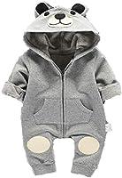 Pelele oso gris blanco para bebés de 3 a 6 o de 6 a 9 meses, talla 70.80 moda recién nacidos