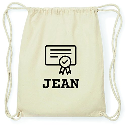 JOllify Turnbeutel Abschluss Geschenk für Jean - Zeugnis