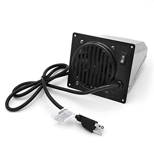 Hongso Replacement Vent-Free Wall Heater Fan, Vent Free Blower Accessory Kit for Mr. Heater, Dyna-Glo, Dyna-Glo 30,000 BTU, Comfort Glow Vent Free Heaters; All Components UL Listed