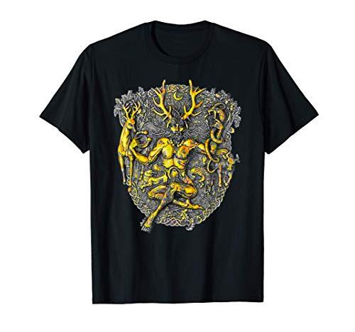 Cernunnos Cerfs Cornes Dieu celtique T-Shirt