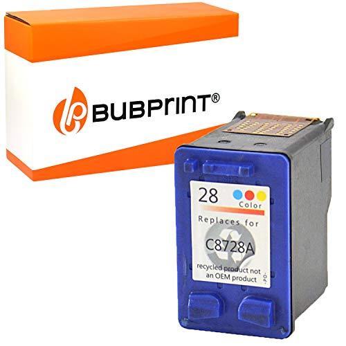 Bubprint Druckerpatrone kompatibel für HP 28 HP28 für Deskjet 3300 3320 3325 3420 3520V 3550 3650 Officejet 4215 5500 5510 3610 PSC 1210 1310 Color