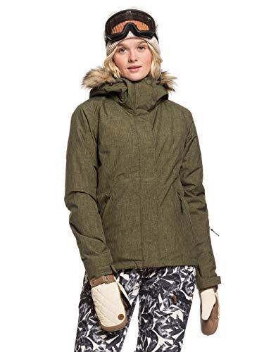 Roxy Damen Jet Ski-Schneejacke für Frauen, ivy Green, M