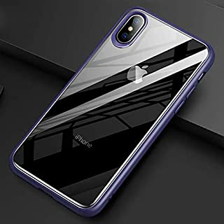 TOTU Protective TPU and Hard PC Case For iPhone Xs 5.8-Bule