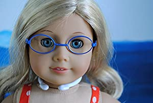 Doll Glasses Doll Accessories Fits 18 Inch Dolls Great Quality Makes a Great Gift.