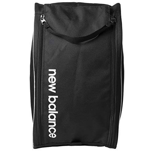 New Balance Men's and Women's Vented Shoe Bag for Travel, Storage and Organization with a Dual Zipper Opening(9L, 9x6x15)