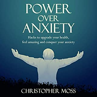 Power over Anxiety audiobook cover art