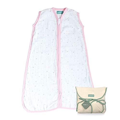 Molis&co. Saco Dormir bebé 100% algodón. Ideal Verano
