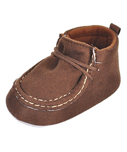 Antheron Infant Moccasins - Unisex Baby Girls Boys Tassels Soft Sole Toddler First Walker Newborn Crib Shoes(Golden,0-6 Months)