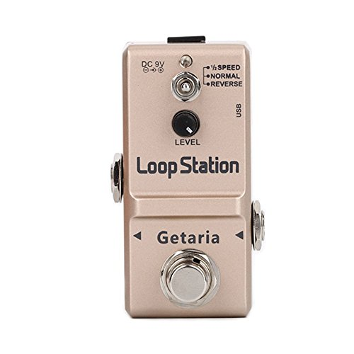 『Getaria Looper Station Effect Pedal ルーパー USB ギターエフェクトペダル 無制限 10分録音 トゥルーバイパス』の1枚目の画像
