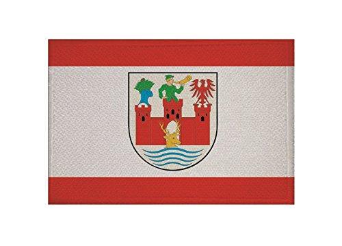 U24 Aufnäher Angermünde Fahne Flagge Aufbügler Patch 9 x 6 cm