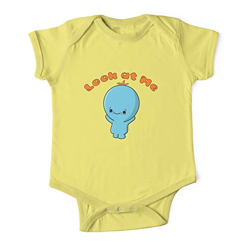 Morty Baby Meeseeks Rick's Look At Me Baby Onesie Outfit Bodysuits One-piece