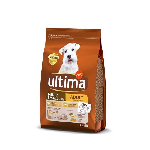 Ultima Cibo per Cani Mini Adulti con Pollo, 3kg