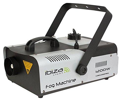 Ibiza - LSM1200PRO - Macchina per fumo 1200 watts senza fili con programmazionne