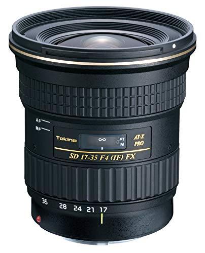 Tokina 17-35mm AT-X Pro FX - Objetivo para Canon (Diámetro: 82mm), Negro