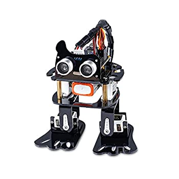 SunFounder Robotics Kit for Arduino  4-DOF Dancing Sloth Programmable DIY Robot Kit for Kids and Adults with Tutorial