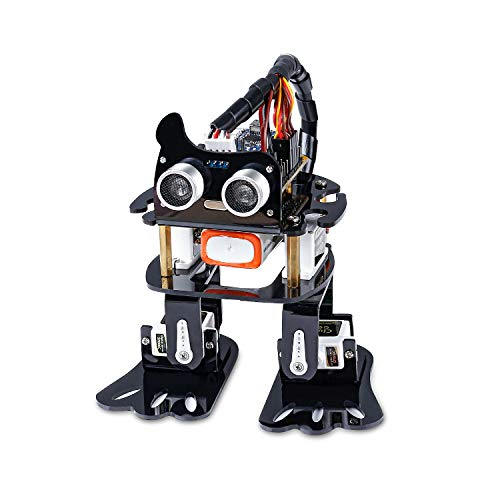 SunFounder Robotics Kit for Arduino , 4-DOF Dancing Sloth Programmable DIY Robot Kit for Kids and Adults with Tutorial