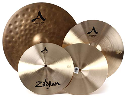 "Zildjian A Zildjian City Cymbal Pack Natural, 12"" pair, 14"", 18"""