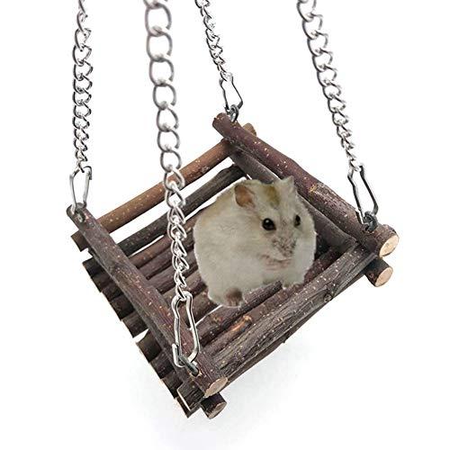 HOSui Juguetes para Hamsters Juguetes para Conejos Cosas para Hamsters Accesorios para Hamster Juguetes Cobayas para Ratones Cobayas HáMsters Conejos