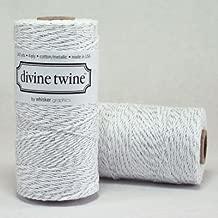Silver METALLIC Divine Twine