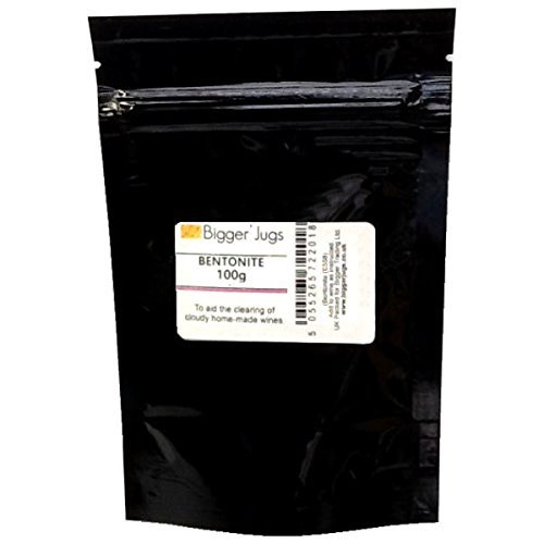 Bentonite - 100g Heavy Duty Resealable Pouch with Tamper Proof Seal -...