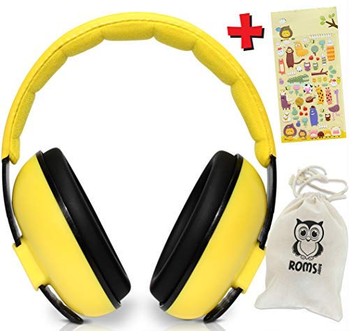 Noise Cancelling Baby Ear Protection Baby Earmuffs ~ Protect...