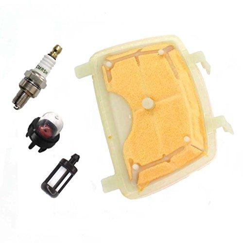 AISEN Luftfilter für Stihl MS171 MS171C MS181 MS181C MS211 MS211C Kettensäge mit Zündkerze Benzinfilter Primer Pumpe