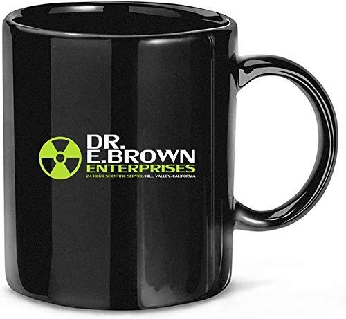 N\A Regreso al Futuro Dr E Brown Enterprises Tri Blends Taza de Regalo Taza de cerámica 11oz
